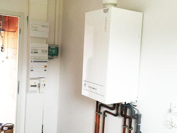 Votre plombier aux Sables d'Olonne, Trichet Electricité, pose des chaudières gaz